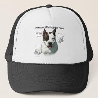 Casquette Conception d'histoire du Staffordshire Terrier