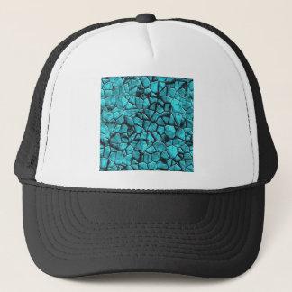 Casquette Conception en pierre de marbre bleue fraîche de