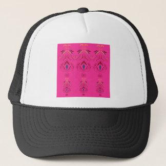 Casquette Conception merveilleuse rose de gens d'ornements