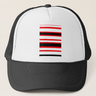 Casquette Conception rayée d'abstraction