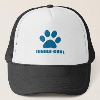 CASQUETTE CONCEPTIONS DE CAT DE JUNGLE-CURL