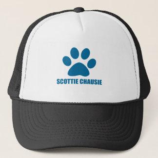 CASQUETTE CONCEPTIONS DE CAT DU SCOTTIE CHAUSIE