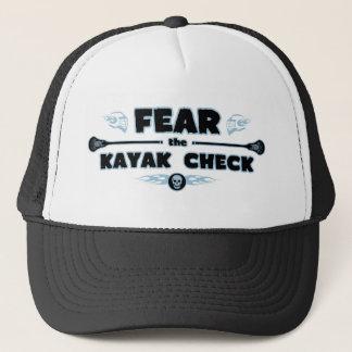 Casquette Contrôle de kayak - bleu