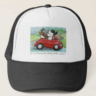 Casquette convertible vintage de casquette