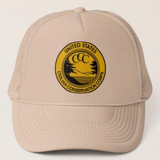 Casquette Corps civils ccc de conservation commémoratifs