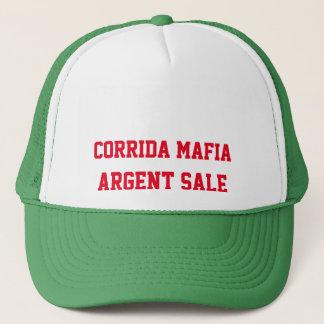 casquette corrida mafia, argent sale