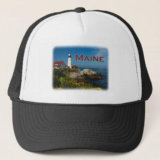 Casquette Côte du Maine - phare principal de Portland