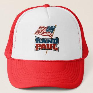 Casquette Couche-point Paul ondulant le drapeau américain