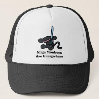 Casquette Coup-de-pied noir de Ninja