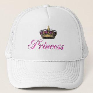 Casquette Couronne de princesse dans les roses indien