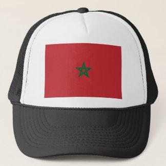 Casquette Coût bas ! Drapeau du Maroc