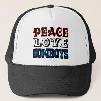 Casquette Cowboys d'amour de paix