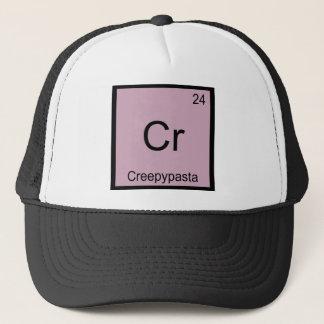 Casquette Cr - Tableau périodique de chimie de Creepypasta