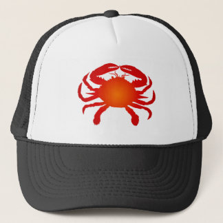 Casquette Crabe orange