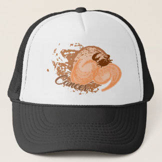 Casquette Crabe orange d'horoscope de Cancer