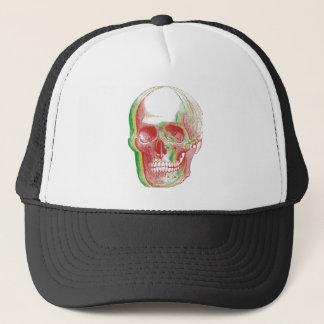 Casquette Crâne tricolore de Rasta