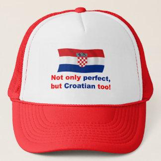 Casquette Croate parfait
