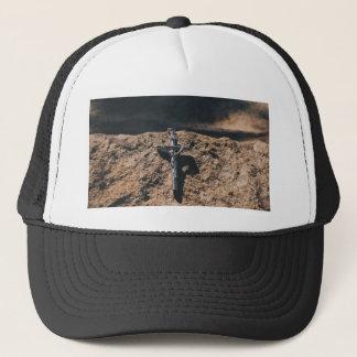 Casquette croix et sable