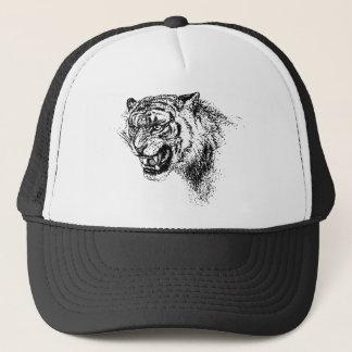 Casquette Croquis principal de tigre