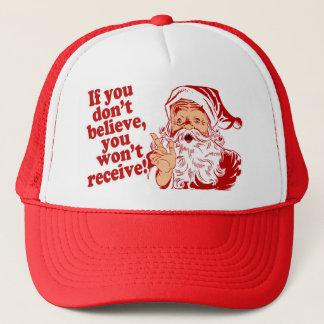 Casquette Croyez au Père Noël