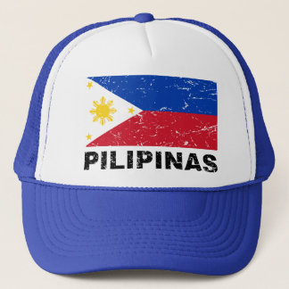 Casquette Cru de drapeau de Philippines