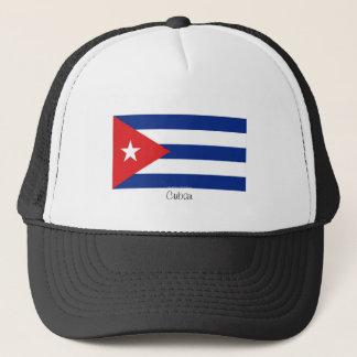 Casquette cubain de souvenir de drapeau