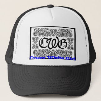 Casquette cwg, fille blanche folle