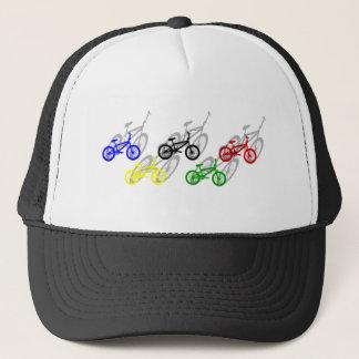 Casquette Cycliste de recyclage de cendrée de bicyle de