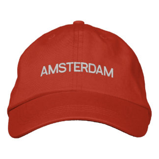 Casquette d'Amsterdam Casquette Brodée