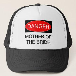 Casquette Danger - mère du T-shirt drôle de mariage de jeune