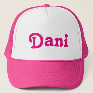 Casquette Dani