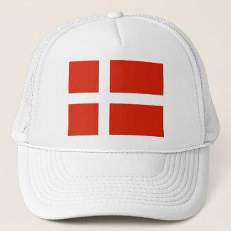 Casquette Dannebrog ; Le drapeau officiel du Danemark