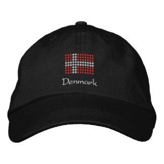 Casquette danois - casquette danois de drapeau casquette brodée