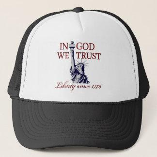 Casquette Dans Dieu nous faisons confiance