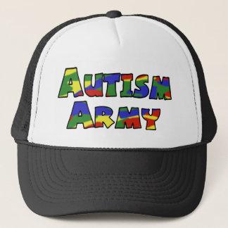 Casquette d'armée d'autisme
