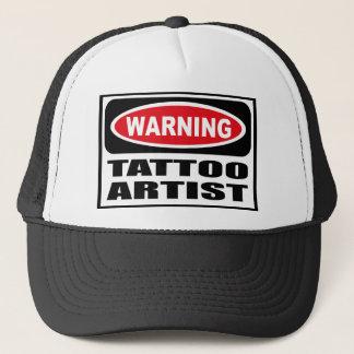 Casquette d'avertissement d'ARTISTE de TATOUAGE