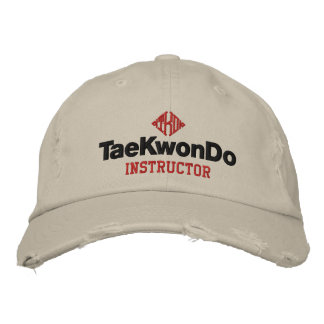 Casquette de 408 instructeurs du Taekwondo