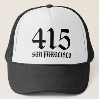 Casquette de 415 San Francisco