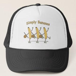 Casquette de bananes de danse