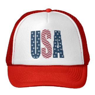Casquette de bannière étoilée des Etats-Unis