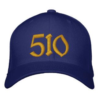Casquette de baseball 510 - bleu et or