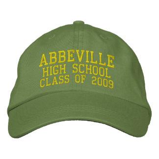 Casquette de baseball brodée de lycée d'Abbeville