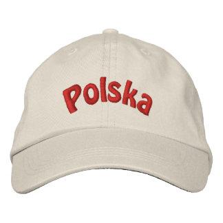 Casquette de baseball brodée par Polska polonaise