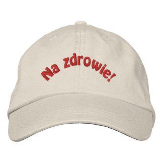 Casquette de baseball brodée par Zdrowie polonaise