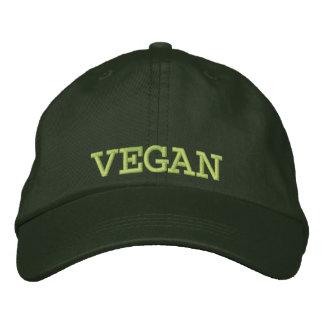 Casquette de baseball/casquette végétaliens brodés casquette brodée