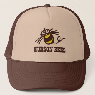 Casquette de baseball d'abeilles du Hudson (Brown)