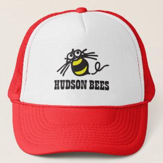 Casquette de baseball d'abeilles du Hudson (rouge)