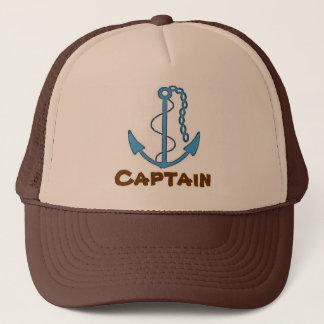 Casquette de baseball de capitaine Brown de bateau