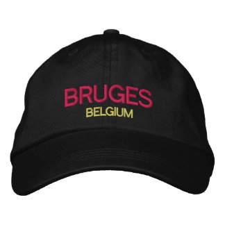 Casquette de baseball de coutume de Bruges,