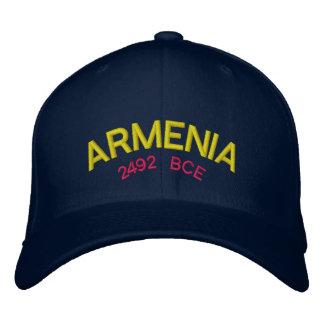Casquette de baseball de coutume de l'Arménie
